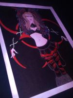 Beautiful =Tanit-Isis Goddess of Cyber Goth 06 by DoubleDArtistry