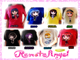 Remote Angel T-shirts by FaithWalkers