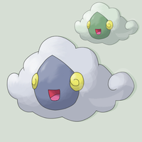 Fakemon Cumulis by mssingno