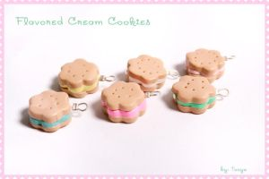 Flavored Cream Cookies by Tonya-TJPhotography
