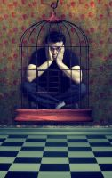 self in a cage by kalemkar