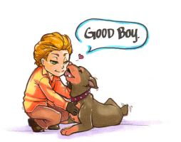 good boy by berrixkisses