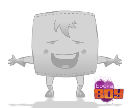 Booka Boy Character by swanturcotte