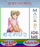 Boku no Pico - Anime icon by azmi-bugs