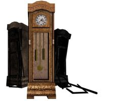 Grandfather Clock by 3dmodeling