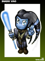 chibi Shado Vao by Evolvana