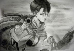 Levi Rivaille by ToxicMiyoko