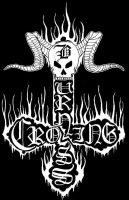 burning cross logo by lapidation2012