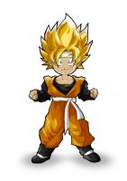 Dragonball Z - Goten by d4m