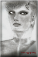 Gaara realistic portrait by Fluffypassion