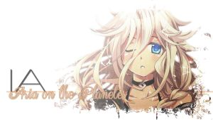 Wallpaper - IA *Aria on the Planetes by KeiiiN