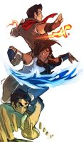 team korra by ufficiosulretro