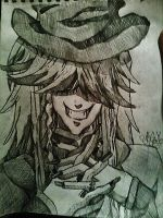 Undertaker from Black Butler by Panicatthedisco7