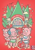pigs revenge by andreasardy
