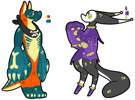 Creature adopts (1/2 open) by Sweetnfluffy-adopts