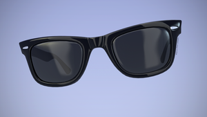 Roy Orbison Ray Ban Sunglass 2 by TheBigDaveC