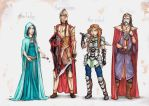 Medieval costumes by ChocolatinaChip