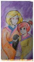 Skylor and Mom by Squira130