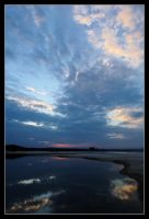 Clarks Beach - sunset 1 by wildplaces