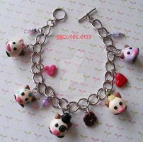 Poro Charm Bracelet League of Legends by ambivalenc3