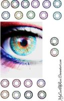 Contact Lenses-GIMP FULLVIEW by MyLastBlkRose