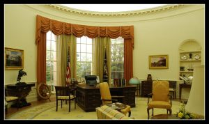 the white house Interior by echengshi