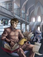 Phylock in the Archives by Evanyell