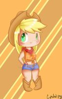 Apple Jack - MLP FiM by PenguinEsk
