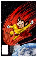 Mighty Mouse colors by Ederoi