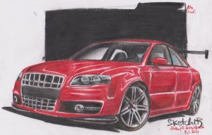 Audi A4 by HorcikDesigns