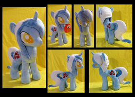 Rainbow Chaser :OC Plushie Commission: by AppleDew