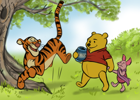 Deep in the 100 acre wood... by Moolallingtons