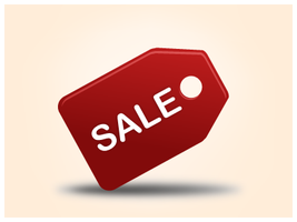 Sale Icon by customicondesign