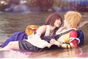 Tidus x Yuna : Final Fantasy X by H-IBIKI