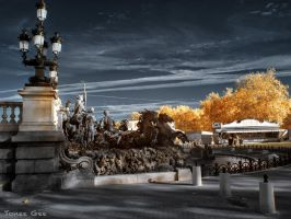 Fountain Infrared - Fontaine Infrarouge 720nm by ToneeGee