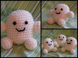Amigurumi Adipose by creativelemons