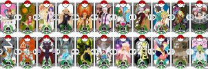 Pokemon BW Tarot by HHeLiBe