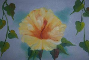Yellow Hibiscus by DJgames