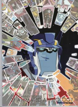 Transformers Animated 10th Anniversary Fan Book. by VectorMagnus2011