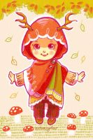 NatureHijabi 1 - autumnydeer by ambientdream