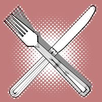 Knife and Fork by scamble