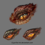 Dragon Eye Variations by goRillA-iNK
