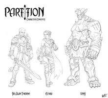 PartItion- Characters by WesTalbott