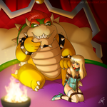 Nintendo Power Couple 2: Beauty and the Beast by BnGJessie