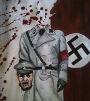 Dead NAZI Walking... by XkrkX