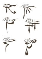 eye tattoos by icemo