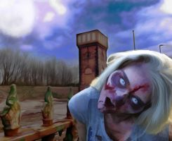 Tower Zombi by DaveJones-Photograpy