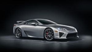 Lexus LFA Silver Front by NasG85