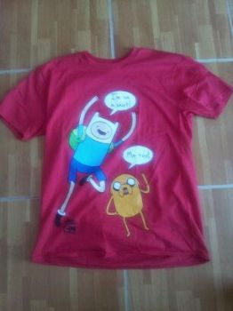 Adventure Time T-shirt by cookie--raider