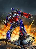 Optimus Prime by TPollockJR